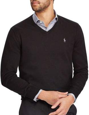 Polo Ralph Lauren V-Neck Cotton Sweater