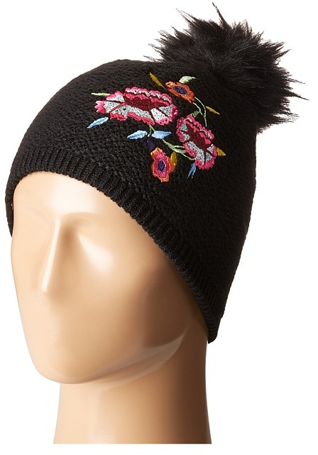 Echo Design - Embroidery Beanie Beanies