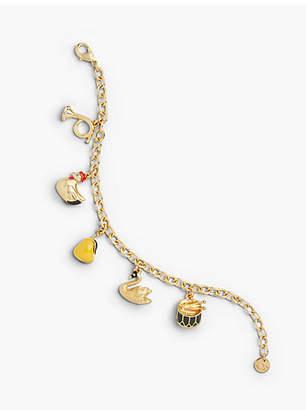 Talbots Holiday Charm Bracelet