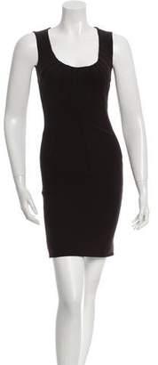 Dolce & Gabbana Wool Sleeveless Dress