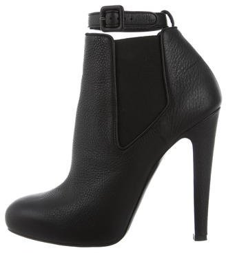 Vera Wang Leather Ankle Boots w/ Tags