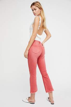 Scotch & Soda Seasonal Mid-Rise Kick Flare Jeans
