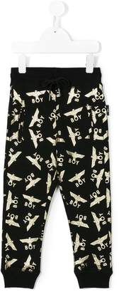 Boy London Kids logo print sweatpants
