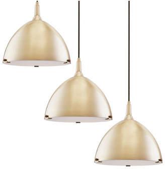 Southern Enterprises Isolde Dome Pendant Light Collection 3 Piece Set