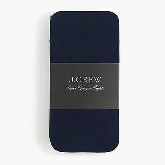 J.Crew Superopaque tights