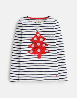 Joules Harbour luxe Jersey Top 3-12yr