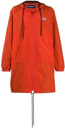 Études Air Patch raincoat