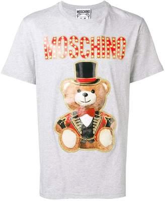 Moschino bear print logo T-shirt