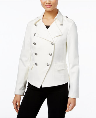 INC International Concepts Military Jacket, Only at Macy's $119.50 thestylecure.com