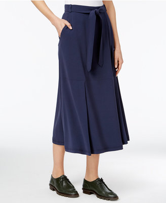 Weekend Max Mara Belted Midi Skirt $295 thestylecure.com