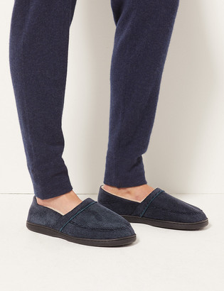 Marks and Spencer Waffle Slip-on Slippers