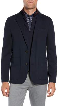 Ted Baker Glenny Slim Fit Layered Look Blazer