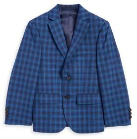 Lauren Ralph Lauren Boy's Long-Sleeve Plaid Sportcoat