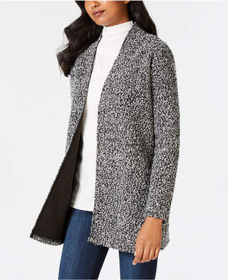 Charter Club Petite Open-Front Jacket