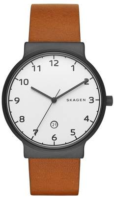 Skagen Men's Ancher Analog Quartz Watch, 40mm