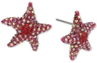 Betsey Johnson Pavé Starfish Stud Earrings