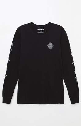 Hurley Glyphs Long Sleeve T-Shirt