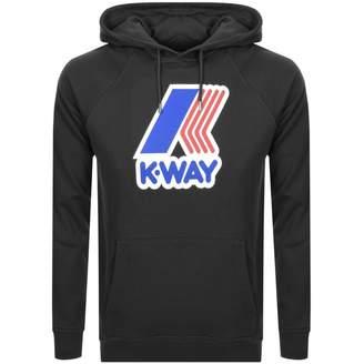 K-Way K Way Sean Logo Hoodie Black