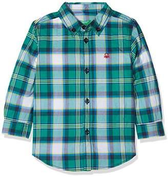 Benetton Boy's Shirt Blouse,7-8 years (Manufacturer Size: Medium)