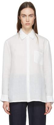 Mansur Gavriel White Linen Shirt