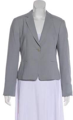 Armani Collezioni Wool Long Sleeve Blazer