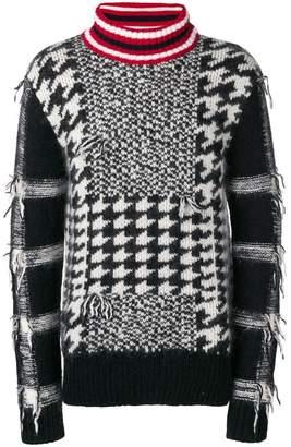 Tommy Hilfiger intarsia knit jumper