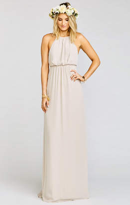 Show Me Your Mumu Amanda Maxi Dress ~ Show Me the Ring Crisp