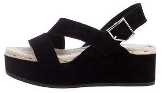 Rag & Bone Suede Flatform Sandals