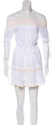 Tularosa Off-The-Shoulder Mini Dress