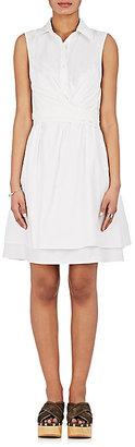 Derek Lam 10 Crosby Women's Wrap-Front Cotton Sundress $425 thestylecure.com