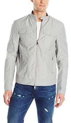 Armani Exchange A|X Men's Bi Color Nylon Zip up Jacket
