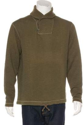 Co RRL & Shawl Collar Sweater