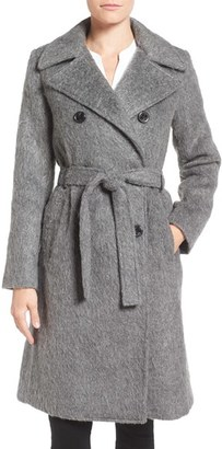 Women's Ivanka Trump Double Breasted Coat $298 thestylecure.com