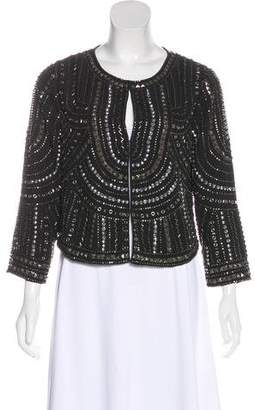 Graham & Spencer Metallic Bead Embellished Jacket
