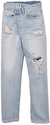 R 13 Cross Over Jean in Cheryl with Rips