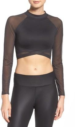 Women's Reebok Cardio Crop Top $75 thestylecure.com