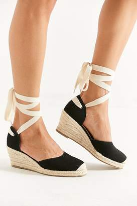 Urban Outfitters Espadrille Lace-Up Wedge