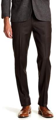"Brooks Brothers Plaid Print Flat Front Regent Fit Pants - 30-34\"" Inseam"