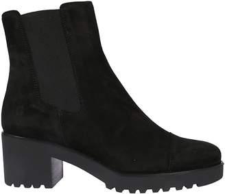 Hogan Elastic Side Ankle Boots