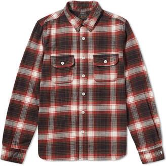 Beams Flannel Work Shirt