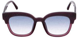 Jimmy Choo 2017 Mayela Glitter Sunglasses