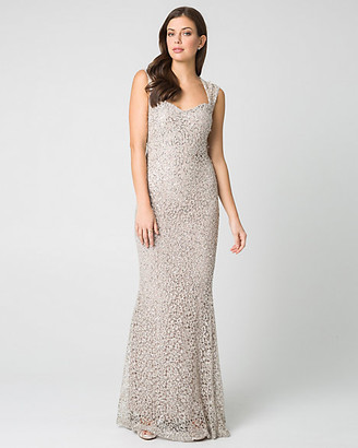 Beige Evening Dresses Shopstyle Canada