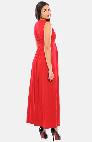 Olian Women's Lucy Maternity Maxi Dress