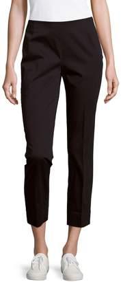 Lafayette 148 New York Side-Zip Cropped Pants