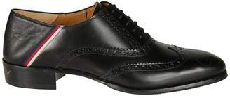 Gucci Sylvie Web Oxford Shoes