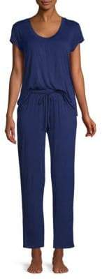 Catherine Malandrino Two-Piece Stretch Pajama Set