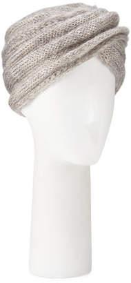 Marzi Mohair-Blend Knit Turban