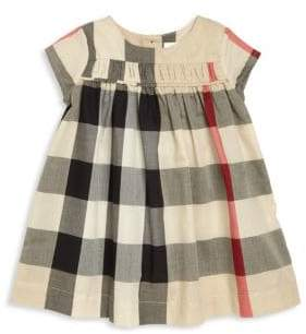 Burberry Baby's& Toddler's Ruched Pleated Dress