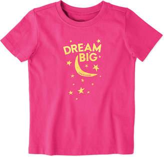 Life is Good Toddler Dream Big Crusher T-Shirt