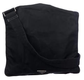 Prada Tessuto Messenger Bag Black Tessuto Messenger Bag